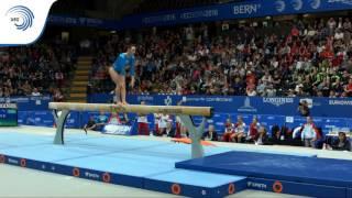 Catalina PONOR (ROU) – 2016 European Championships – Qualifications Beam