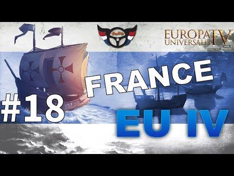 EU4 France - Big Blue Blob Achievement Run - ep18
