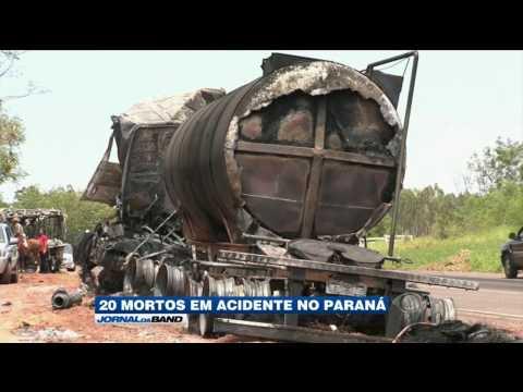 Acidente em estrada no Paraná deixa 20 mortos