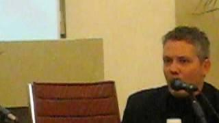 Max Bunker parla a Lucca 2009 - Cenni Kriminal e Satanik e clamorosa rivelazione
