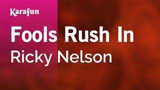 Karaoke Fools Rush In - Ricky Nelson *