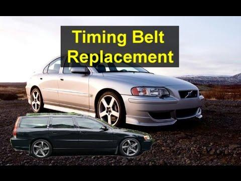 Timing belt replacement, P2 Volvo S60, V70, XC90, S80, V50, S40, V40