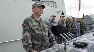 Exclusive video: Xi Jinping reviews PLA Navy in the South China Sea