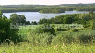 Stock Footage Europe Germany Mecklenburg Lake District Mecklenburgische Seenplatte Nature Travel HD