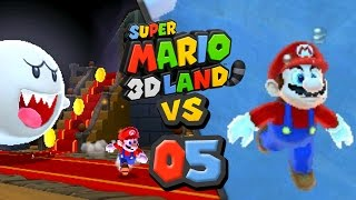 Lets Race: Super Mario 3D Land - Episode 5: The Struggle is Real!
