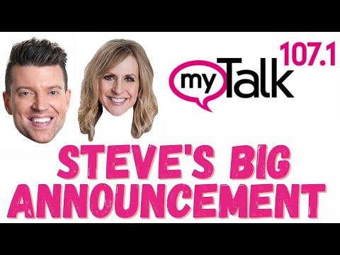 Steve's Big Announcement!
