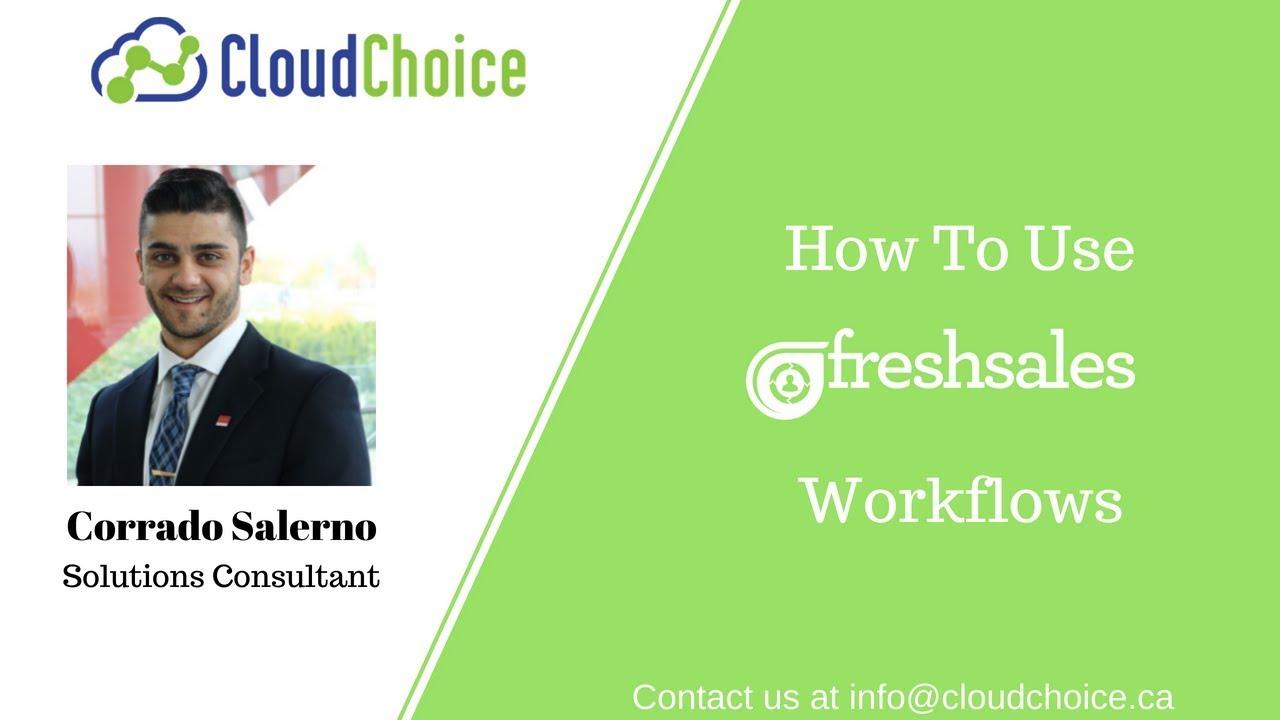 Great Workflow In Freshsales