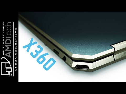 HP Spectre x360 13t (Poseidon Blue) Unboxing:  Whiskey Lake with New Gem-Cut Design