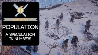 Lore Bites: Population (A Speculation in Numbers)