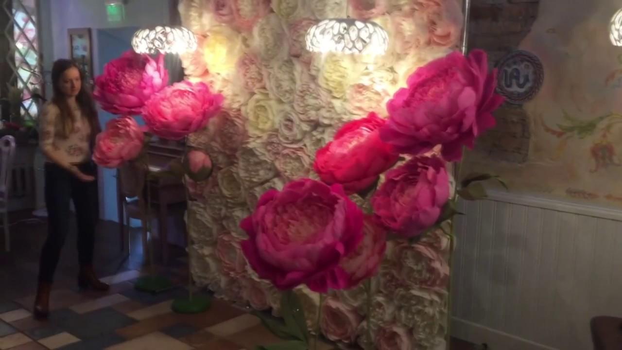 Ростовые цветы из бумаги своими руками фото 565