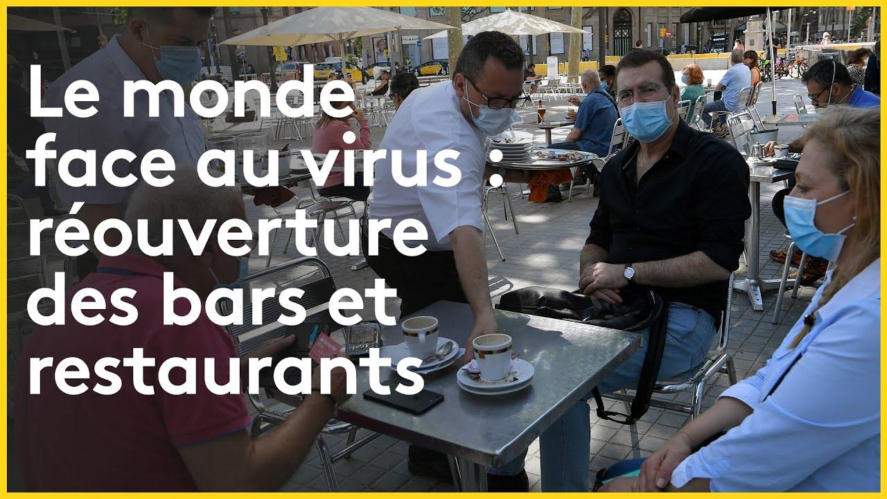 #restaurant #bar Tous en terrasse ? L'Italie, le Liban, la Belgique et le Royaume-Uni se déconfinent