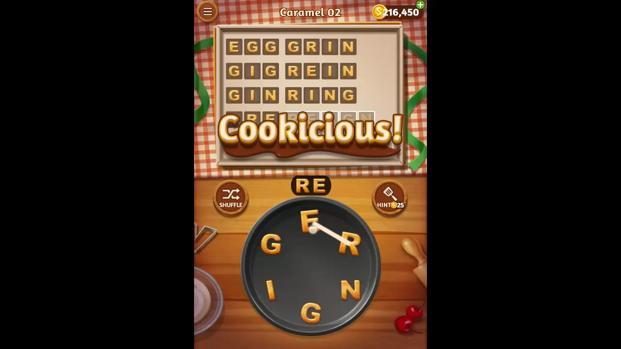 Word Cookies Answers Chocolate