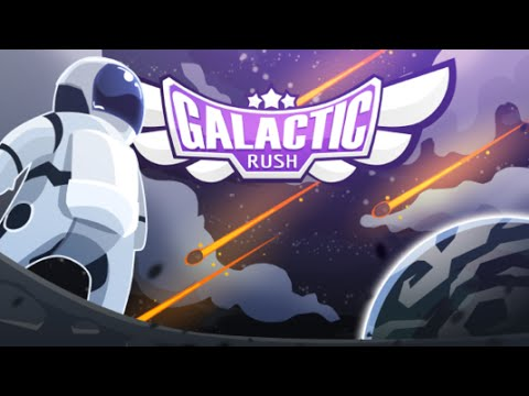 Galactic Rush Android GamePlay Trailer (HD) [Game For Kids]