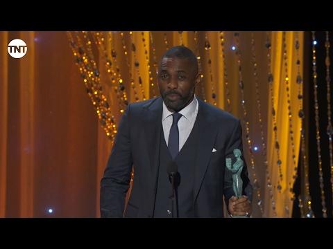Idris Elba I SAG Awards Acceptance Speech 2016 I TNT