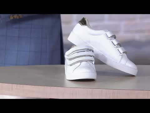 Vionic Leather Sneakers – Bobbi on QVC