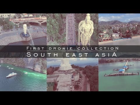 Dronie collection | Travel Vloggers | South East Asia