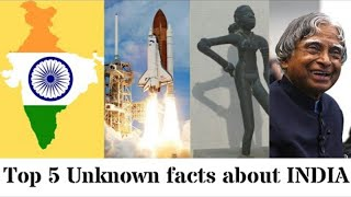 Top 5 Unknown Facts about INDIA!!! || Factz Quest