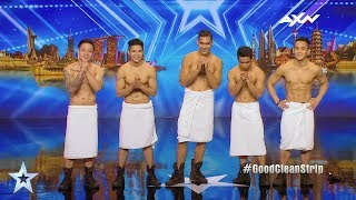 Stripboys Judges' Audition Epi 4 Highlights | Asia's Got Talent 2017