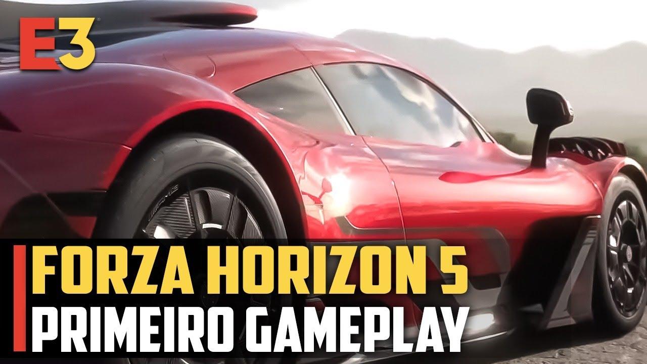 Forza Horizon 5 PRIMEIRO GAMEPLAY