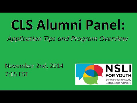 CLS Alumni Panel