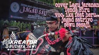Cover Lagu - Tenda biru voc. Ika jaranan Jagad satriyo Live kaTang