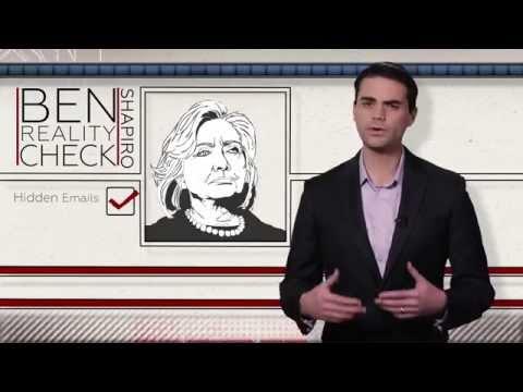 Ben Shapiro: Hillary Clinton Lies... A Lot