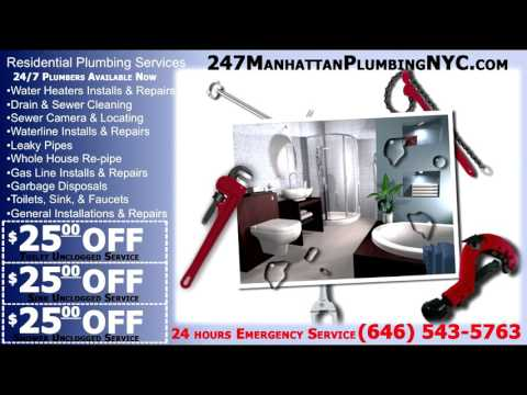 24/7 Manhattan Plumbing NYC