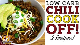 Low Carb CHILI COOK-OFF - The BEST Keto Chili Recipe!