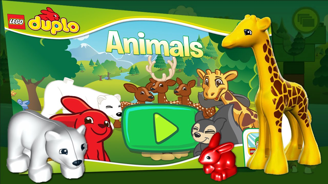 Family Toy Review: Animal Toys! Lego Duplo Around The ...  What Are Duplos