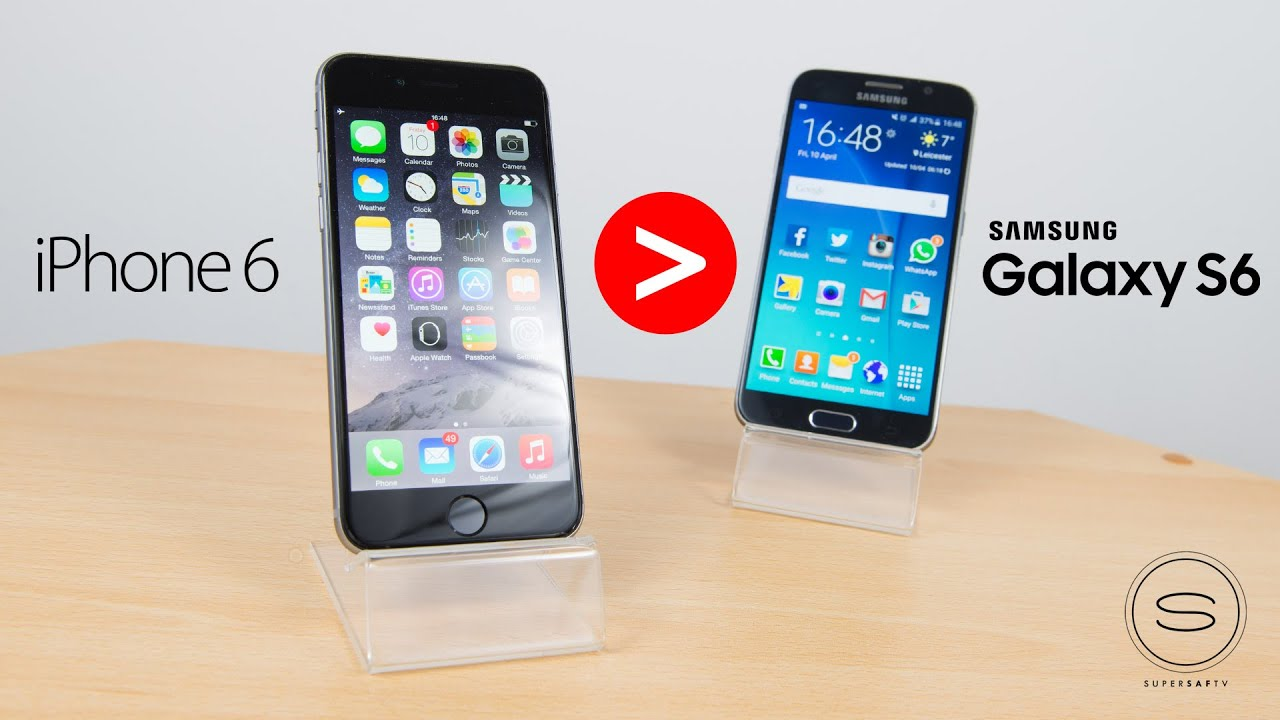 Top 5 Reasons why iPhone 6 is Better than Samsung Galaxy ...