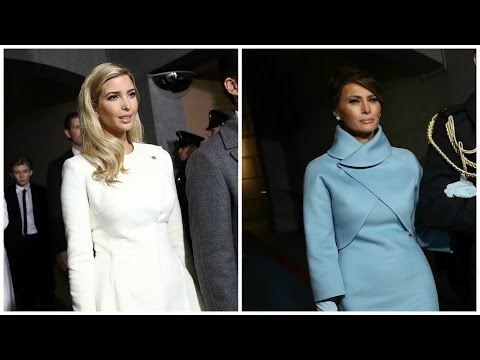 The Symbolism of Melania and Ivanka Trump's Inauguration Style