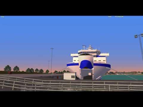 GTS Finnjet Arriving Travemunde | VSF
