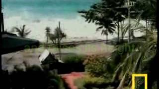 2004 Asia Tsunami Footage 海啸