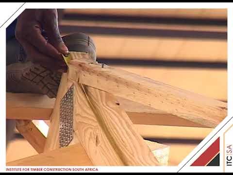 ITC-SA Erection of a gable to gable roof