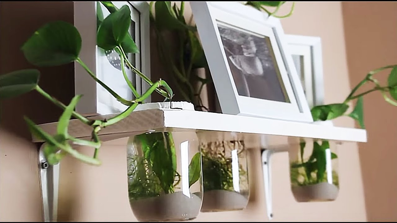 How To Hang On The Wall Aquarium Tutorial Youtube
