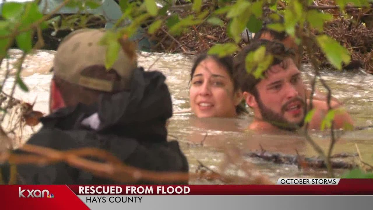 Daring water rescue caught on camera