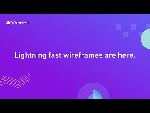 Whimsical Wireframes – Lightning Fast Wireframing with Real-time Collaboration