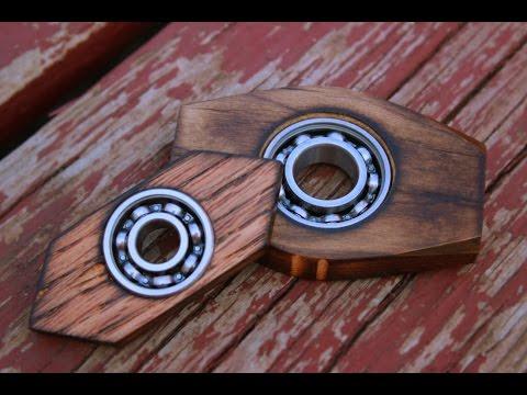 Making fidget spinners