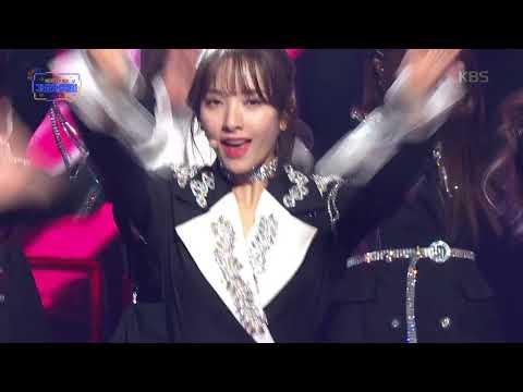 KBS가요대축제 - 우주소녀 - Intro + 부탁해  20181228