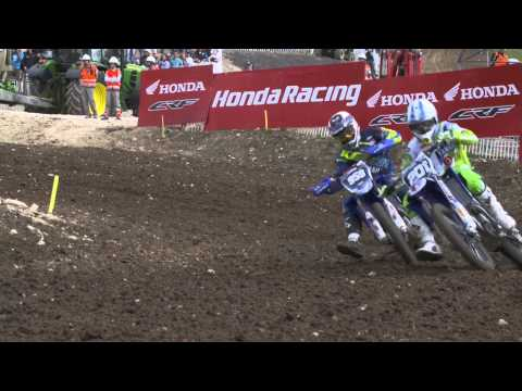 European Championship EMX125 round of France Race 1 Highlights 2015
