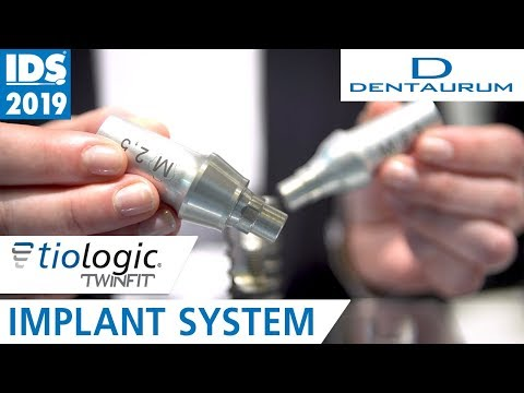tioLogic® TWINFIT – The Implant System with Maximum Flexibility | IDS 2019