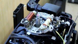 Установка генератора і стабілізатора на Tohatsu 9.8