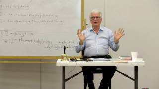 The Holiness of God in Sacrificial Worship in Leviticus pt 6 Theological Framework  Dr. John Kleinig