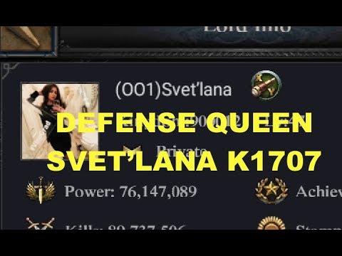 Clash Of Kings : Defending Against T12/T13 CAV - Svet'lana K1707 - THE DEFENSE MASTER