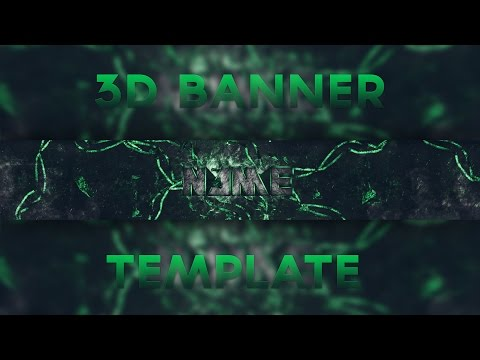 3D Banner Template | Adanix Designs | Free Download