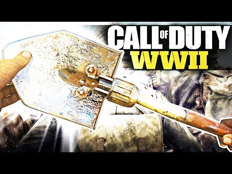 UNLOCKING CHROME SHOVEL! (Call of Duty WW2)