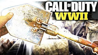 UNLOCKING CHROME SHOVEL FOR A YOUTUBER! (Call of Duty WW2)