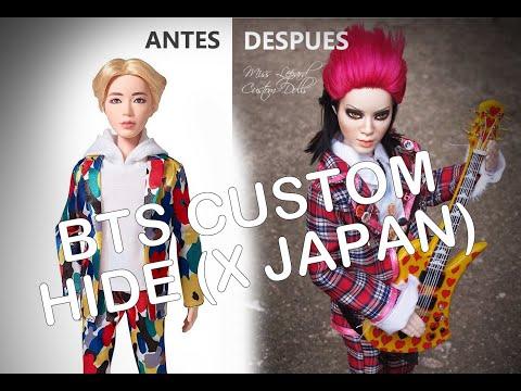 BTS JIN Mattel Become Hide Matsumoto (X Japan)