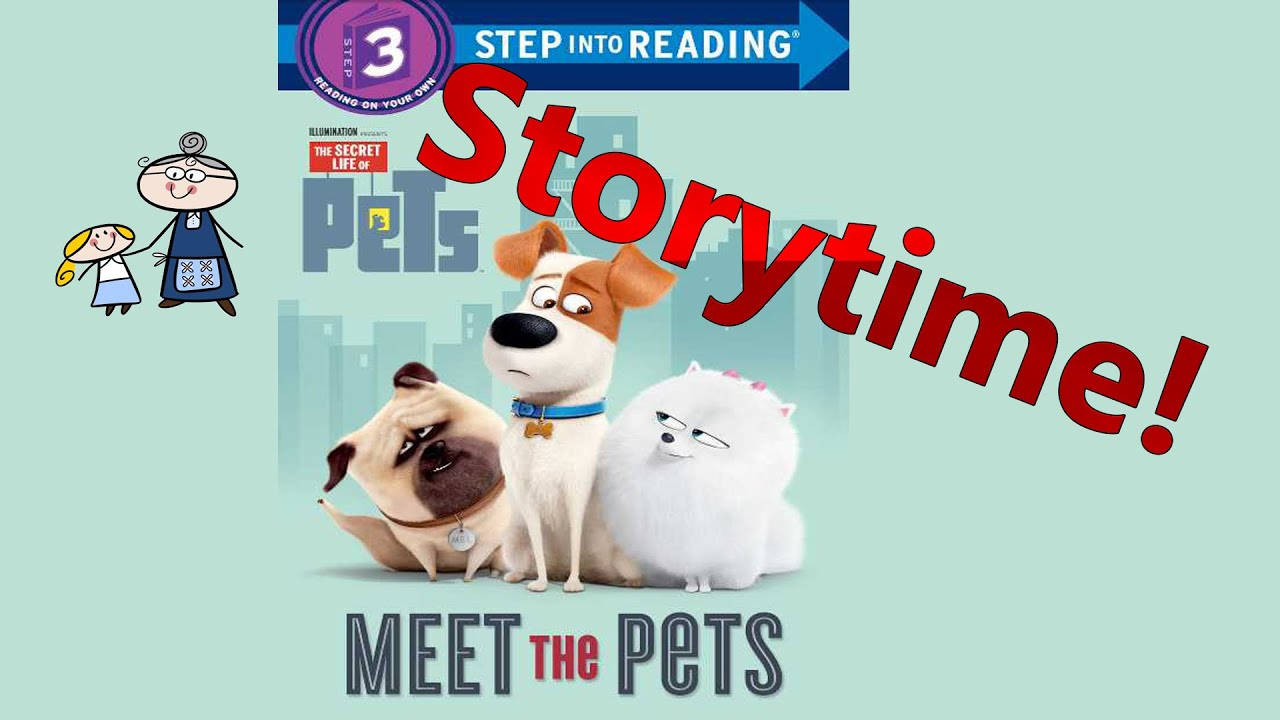 The Secret Life of Pets Read Along ~ MEET THE PETS ~ Story Time ~ Bedtime  Story Read Aloud Books