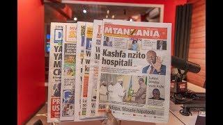 LIVE MAGAZETI: Kashfa nzito hospitali, Spika Ndugai, Masele hapatoshi